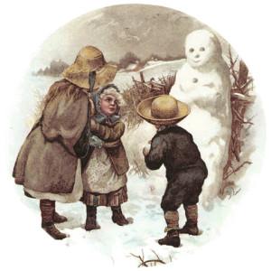Lapsed lumememmega