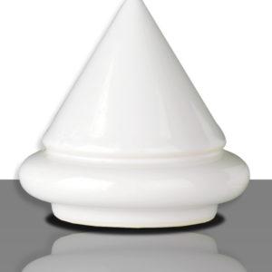 valge läikiv madalkuumus